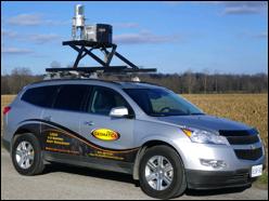Mobile laser scanner image